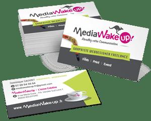 MediaWakeUp agence de Communication en Vendée Communication web et Communication imprimée