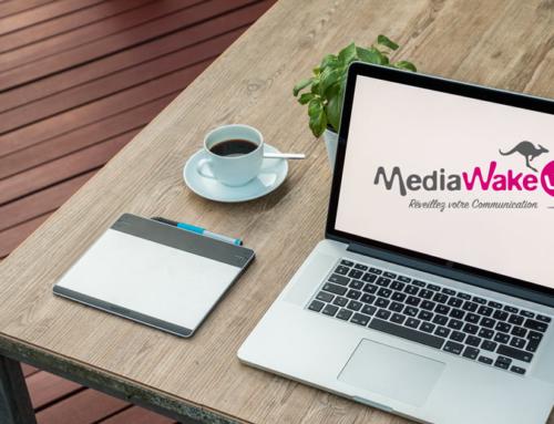 Création de MediaWakeUp. Comment naît un logo ?