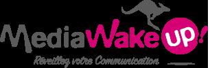 MediaWakeup Graphiste Freelance Vendée Logo