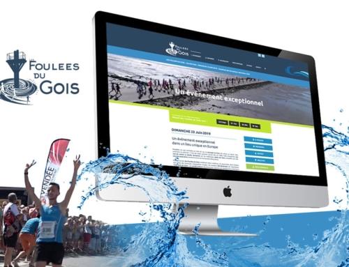 Site internet du 2e événement en Vendée – Les foulées du Gois