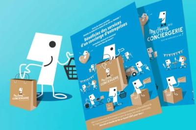 imprimerie graphiste Dépliant flyers Vendée Nantes Paris Graphiste freelance