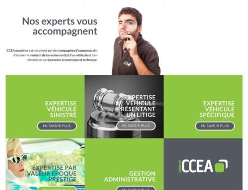 Création du site internet du Groupe CCEA
